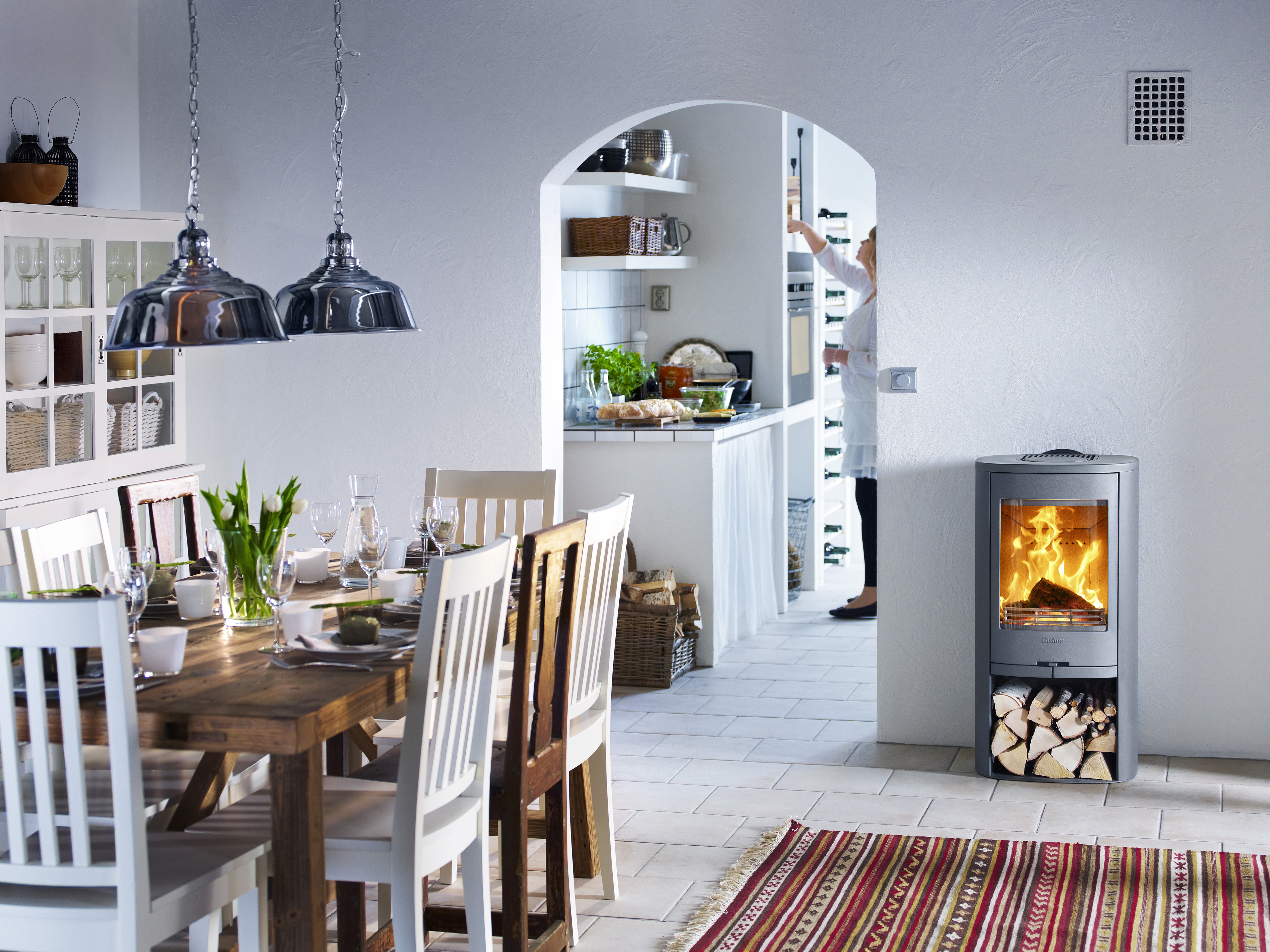 Replace your old wood burning stove
