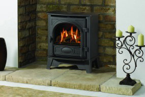 Gazco Stockton 8 gas stove in Thames Ditton, Surrey