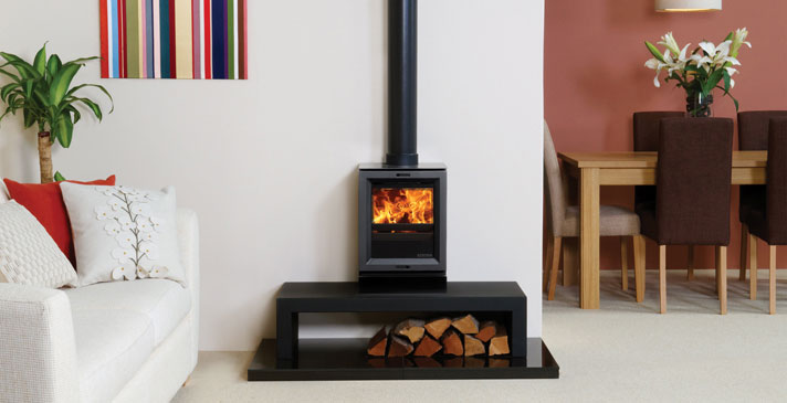 View 3 <br> Wood Burner